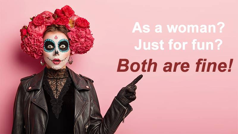 How to Enjoy and Celebrate Halloween as a Crossdresser