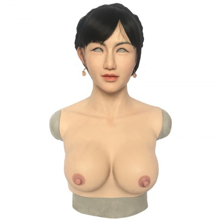 Roanyer crossdresser breast form with female silicone realistic boobs transgender masquerade-A7