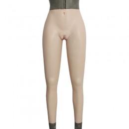 Fake Vagina silicone panty .aritficial vagina penetrable vagina underwear with Urination tube &anus catheter