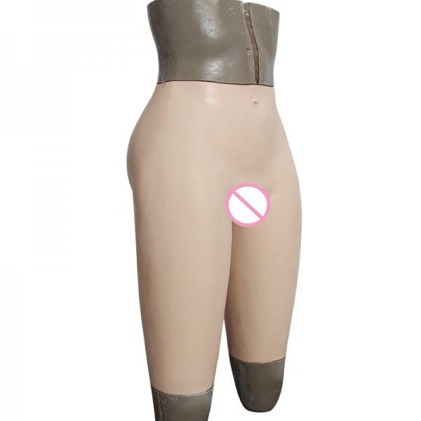 silicone crossdress underwear fake vagina transgender pant for male