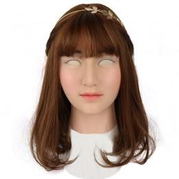 Roanyer female silicone crossdresser mask-Sunny