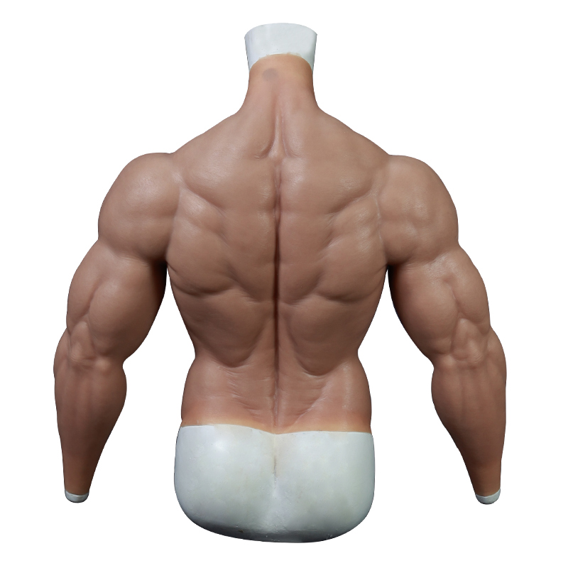 Upgraded fake muscle suit