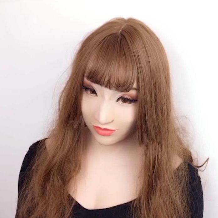 Roanyer female silicone crossdresser mask-Mary