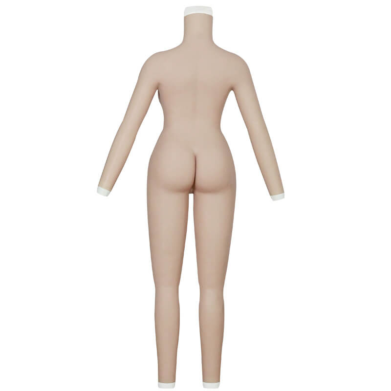 C cup bodysuit with arms