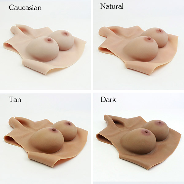 C Cup Silicone Breast Forms