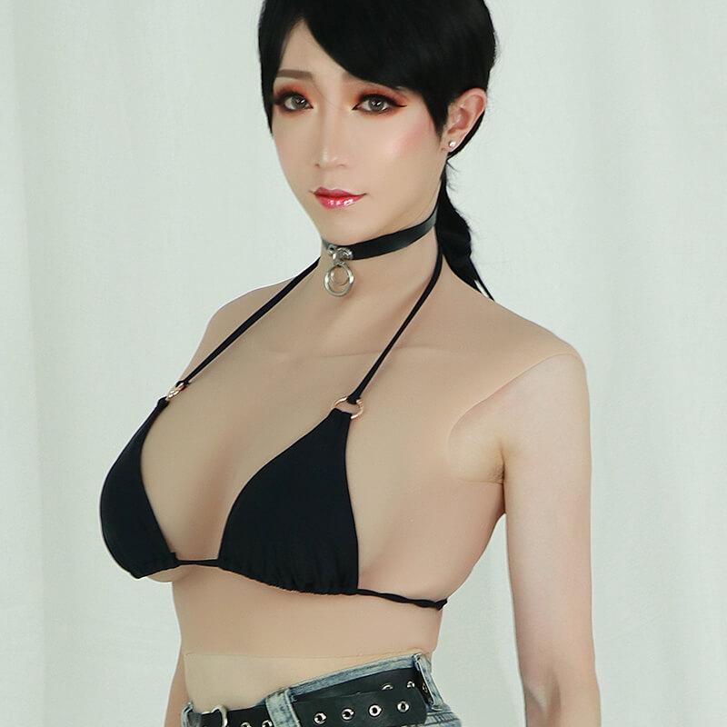 Silicone big C cup breast