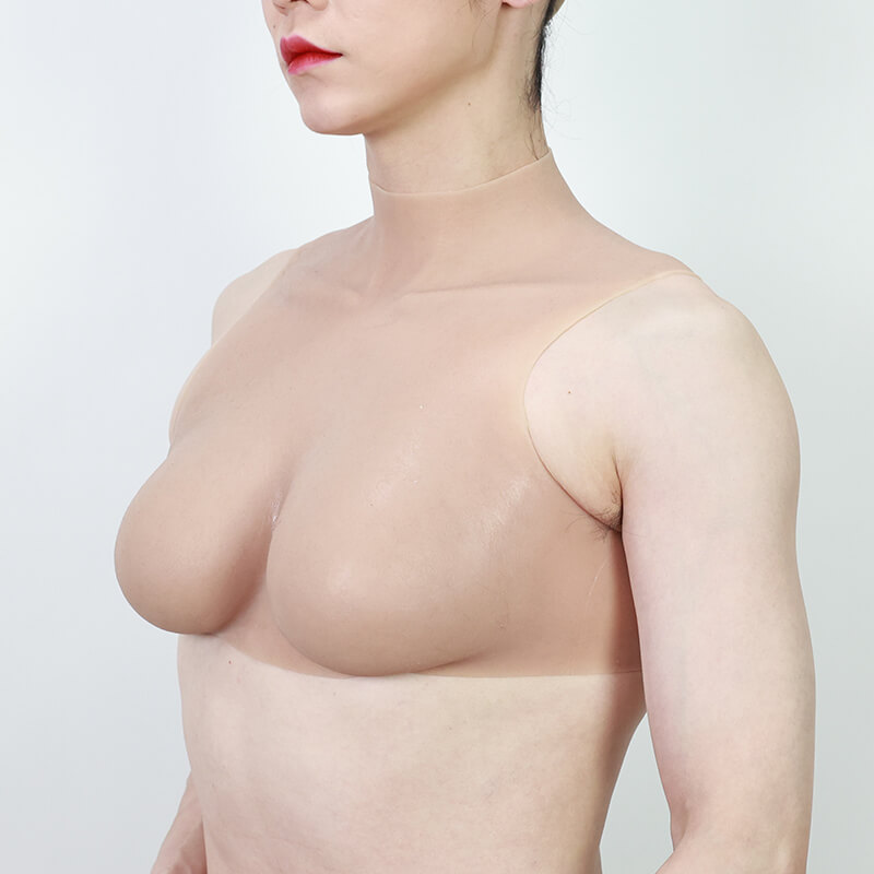 E cup honeycomb silicone breast for woman