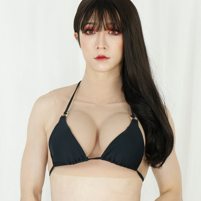 Small F Cup Breast Cool Version