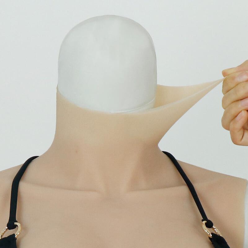 silicone breast F Cup - small cool version
