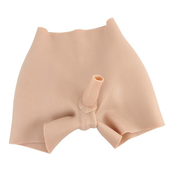 silicone penetrable fake vagina pant+Silicone Hip Pads