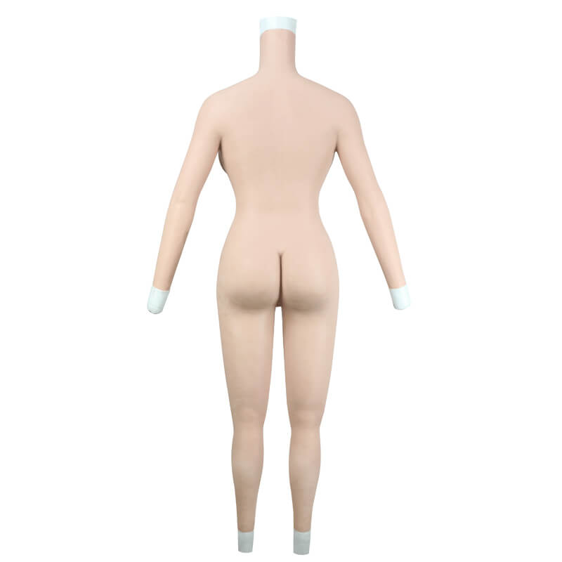 H Cup Bodysuit with Arms