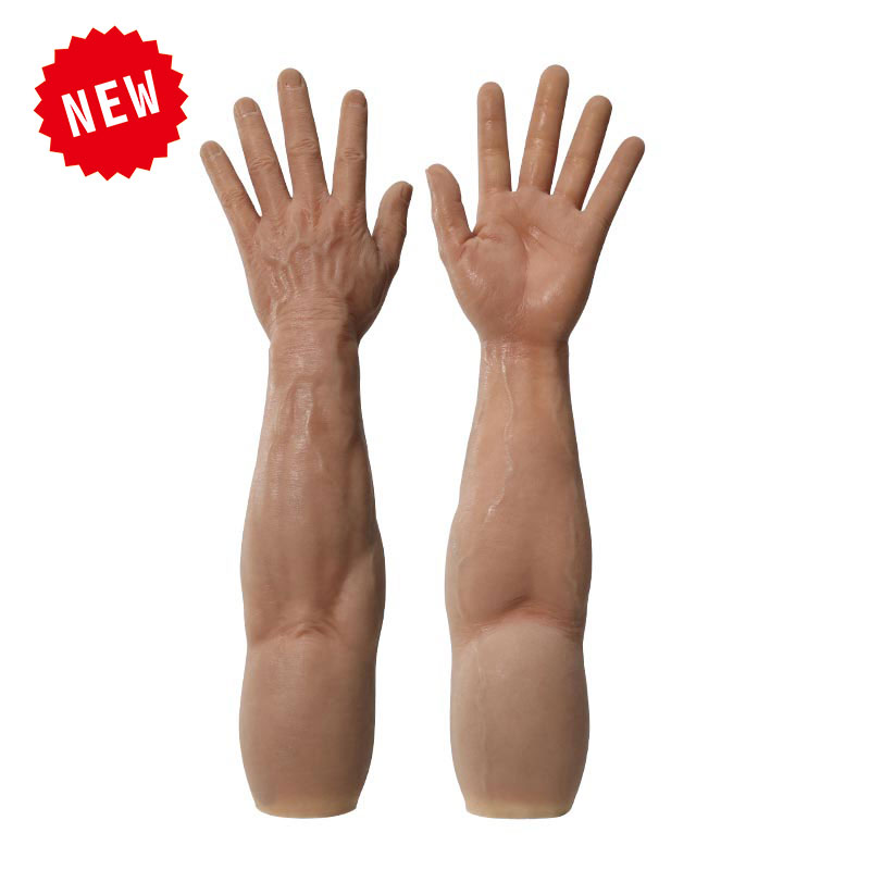 Realistic Silicone Male Gloves