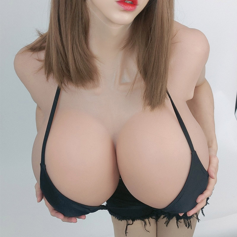 Giant silicone breast S cup Super sexy