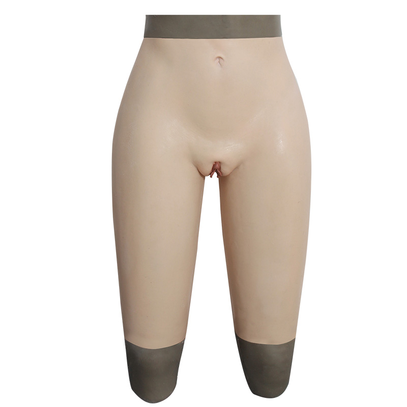 Crossdresser girdle-middle length pant