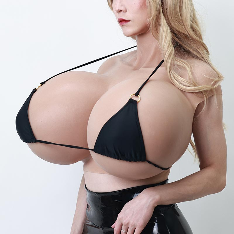 Super-large silicone breast X cup