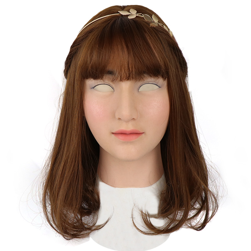 Roanyer female silicone crossdresser mask-Sunny