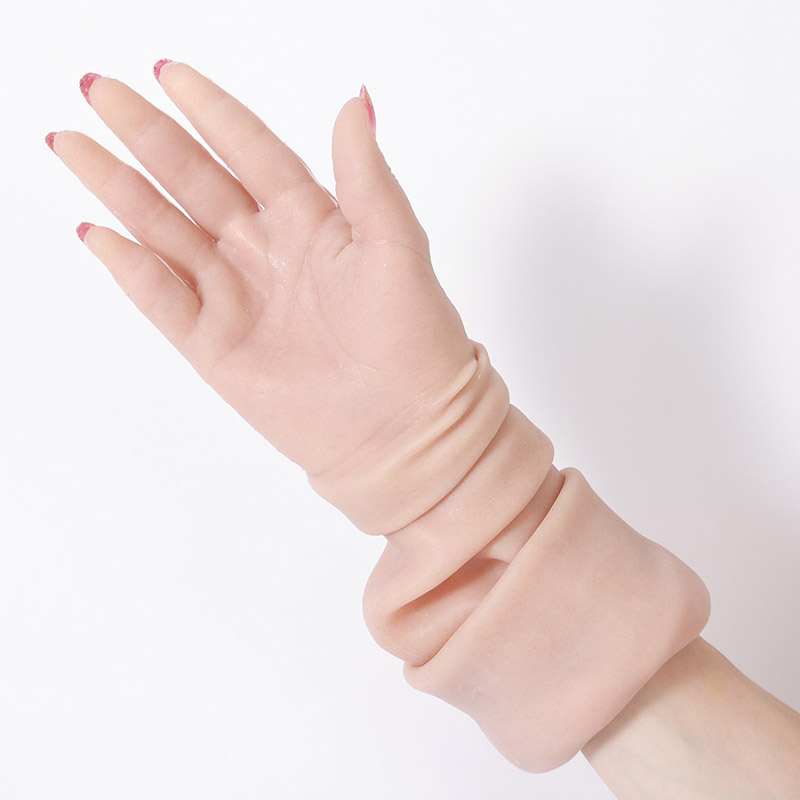 Realistic Silicone Female Gloves