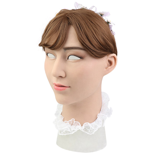 Roanyer female silicone crossdresser mask-Laurel