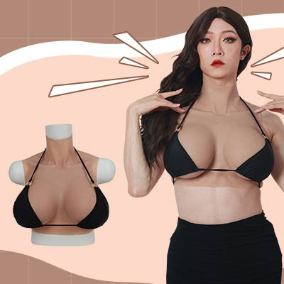 Boobs shape is more natural